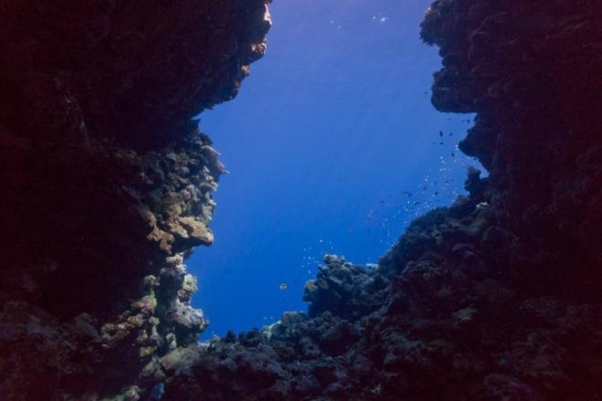 Sinai cave dive