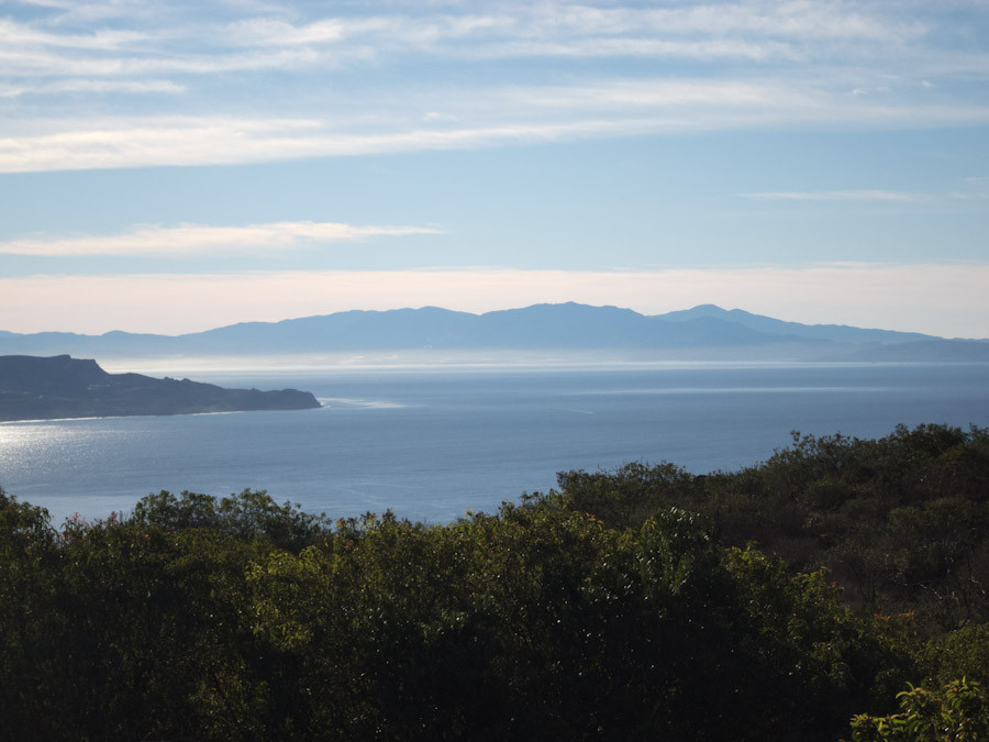 View from highway north of Ensenada
