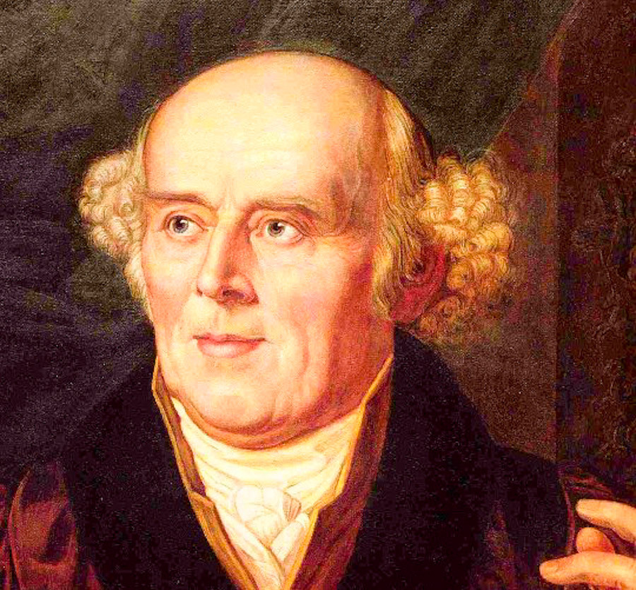 Samuel Hahnemann  Photo credit: Public Domain Review via Flickr