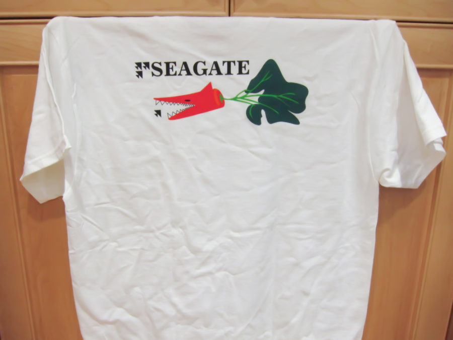 Seagate July contest – win a T-shirt and $ credits