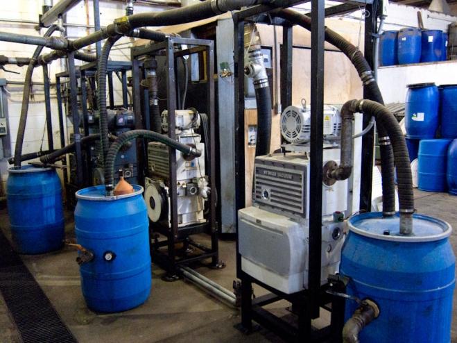 Seagate Freeze Drying Condenser Repair