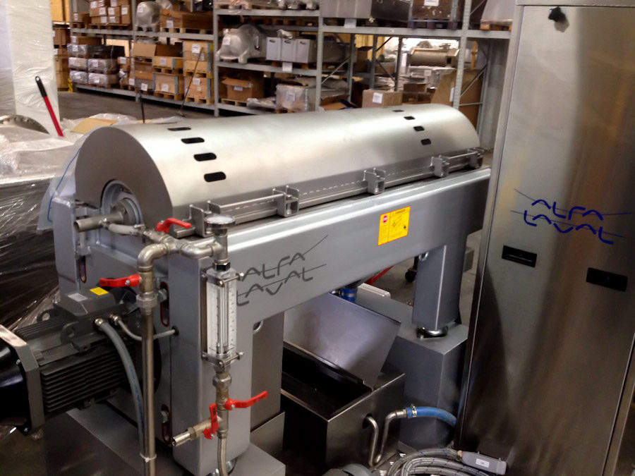 New Alfa-Laval Olive Oil Press