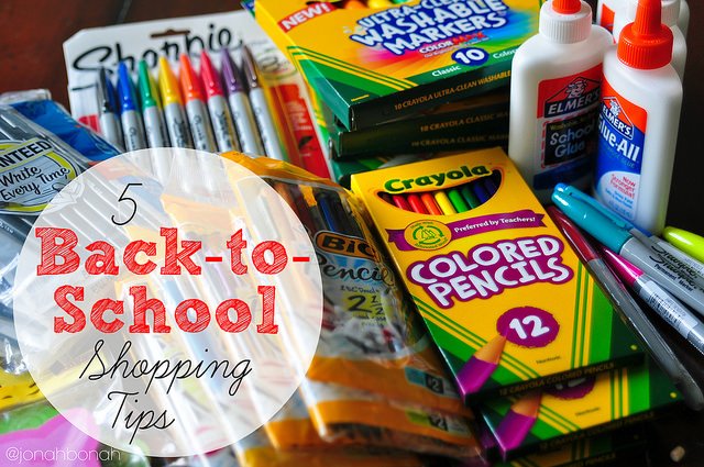 Eco-Friendly Shopping Tips for Back-to-School