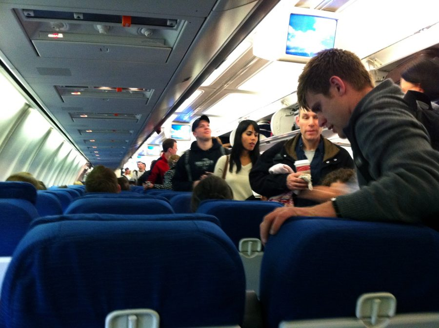 Airplane travel for Germaphobes