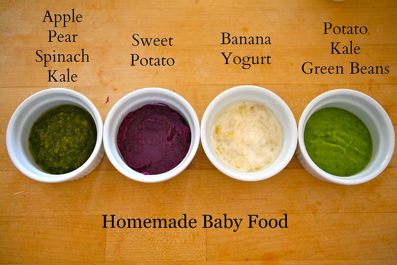 DIY Natural Baby Food Recipes for Your Little One